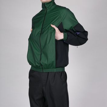 Green Utility Track Jacket