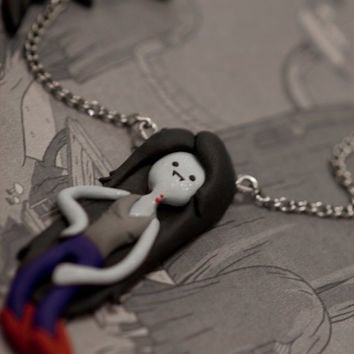 Adventure Time Marceline Vampire Queen Necklace
