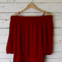 Sonya Smocking Top