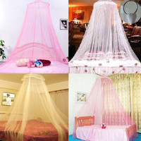 Elegant Lace Princess Palace Mosquito Net Cradle Bed Netting Bedspread