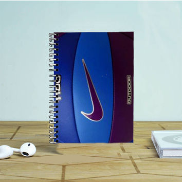 Blue Volley Ball Nike 2 Photo Notebook Auroid