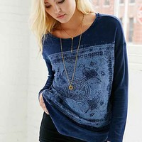 Project Social T Filigree Crew-Neck Top-