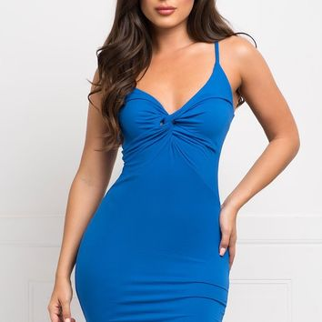 Jenny Dress- Royal Blue