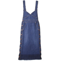 [럭키슈에뜨] [Re-Order][JDC pour Lucky] Denim Overall Dress