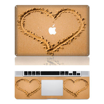 Love beach laptop decals Mac cover decals Mac decal Macbbok pro cover decal Mac air decal Mac stickers Apple decal ipad decal iphone decal