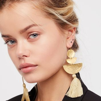Free People Bryce Canyon Tassel Earrings