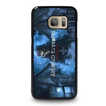 avenged sevenfold samsung galaxy s7 case cover  number 1