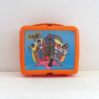 20% OFF SALE...vintage 1980s Mr. T Lunchbox