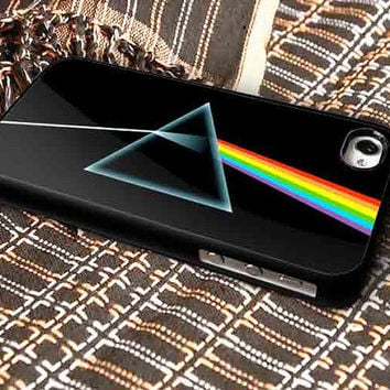 Pink Floyd Prism The Dark Side Of The Moon for iPhone 4/4s, iPhone 5/5S/5C/6, Samsung S3/S4/S5 Unique Case