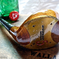 Golf Club Bottle Opener -- Rare Maxfli Australian Persimmons 5 Wood -- Golf Gift