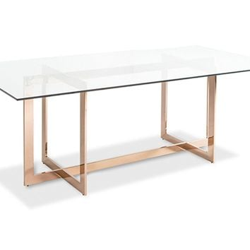 Carmelina Dining Table ROSE GOLD