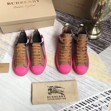 Burberry Vintage Check Sneakers