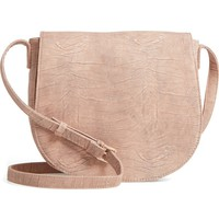 Sole Society Livvy Faux Leather Crossbody Saddle Bag | Nordstrom