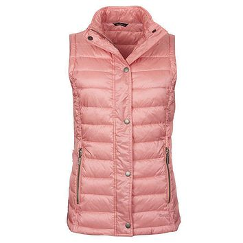 Alasdiar Quilted Gilet in Vintage Rose by Barbour