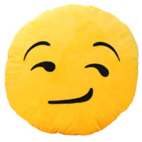 Emoji Glaring Eyes Pillow
