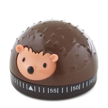 Kikkerland Woodland Creature It's a Done Meal Kitchen Timer