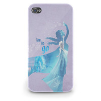 Elsa Quote Frozen Disney Princess - Hard Cover Case iPhone 5 4 4S 3 3GS HTC Samsung Galaxy Motorola Droid Blackberry LG Sony Xperia & more