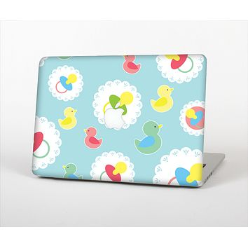 The Colorful Rubber Ducky and Blue Skin Set for the Apple MacBook Pro 15""
