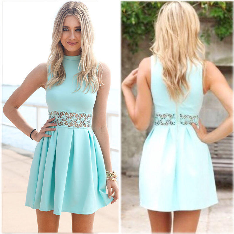 b279a7c5317 New Fashion Summer Sexy Women Mini Dress Casual Dress for Party and Date    4661731076