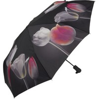 Galleria Tulips Folding Umbrella