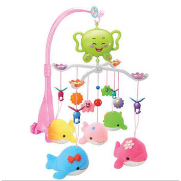 Crib Hanging Musical Mobile & Rattle Toys