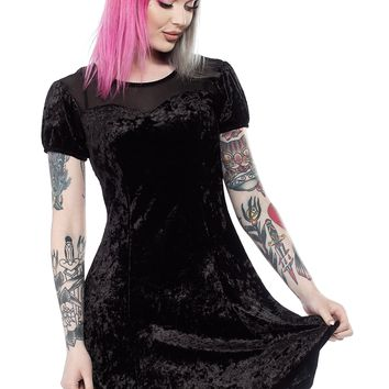 1dfc4cf67f SOURPUSS BLACK CATS SKATER DRESS from Sourpuss Clothing