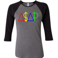 ASAP 3/4 Sleeve Baseball Ladies Jersey