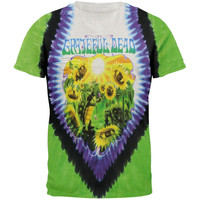 Grateful Dead - Sunflower Terrapin Tie Dye T-Shirt
