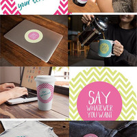 ArigigiPixel - party printables & digital graphics, blog freebies