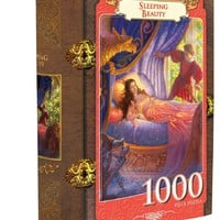 Sleeping Beauty - 1000 Piece Jigsaw Puzzle (book box)