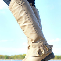 Ride With Me Boot - Taupe