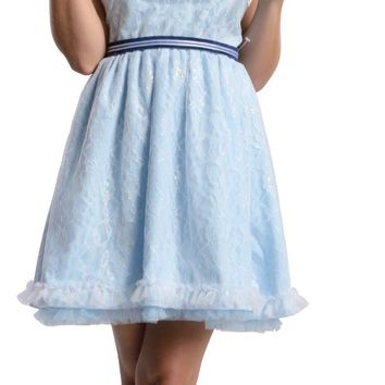 Rubie's Costume Disney's Oz The Great and Powerful China Doll Dress With Mask, Blue, Teen