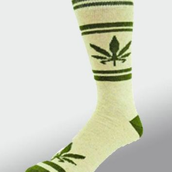 Women's Hemp Leaf Sock 9-11
