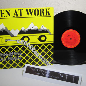 Men At Work - Business As Usual - Vinyl LP record album