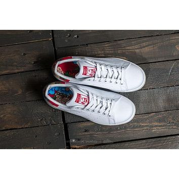 ADIDAS STAN SMITH W Women Sneaker ¡°White/Power Red¡± BB5157
