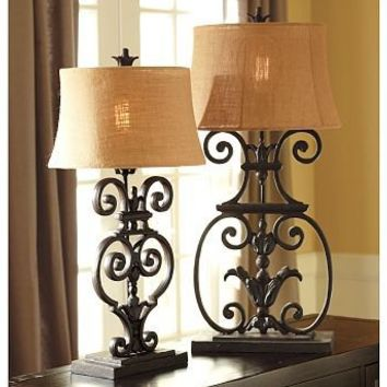 Sabina Figural Table & Bedside Lamp Base | Pottery Barn