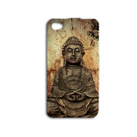 Meditation Buddha Phone Case Buddha iPhone Case Cute iPod Case Cool Phone Cover iPhone 4 iPhone 5 iPhone 5s iPhone 4s iPod 4 Case iPod 5