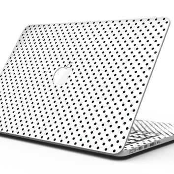 The Slate Black Micro Polka Dots - MacBook Pro with Retina Display Full-Coverage Skin Kit