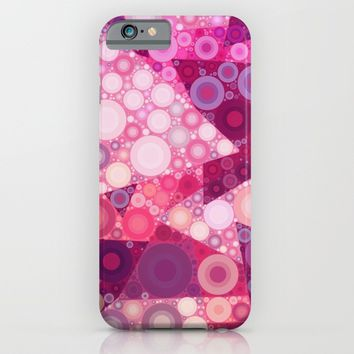 Pink Sherbet Bubbles iPhone & iPod Case by Kirsten Star