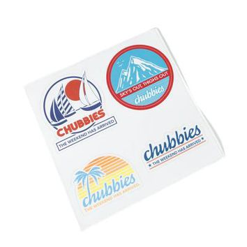 The Sticker Sheet – Chubbies Shorts