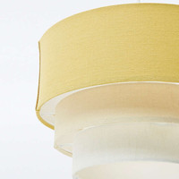 Three Tier Ombre Lampshade in Ochre - Urban Outfitters