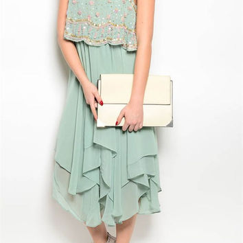Harlow Embellished Couture Dress