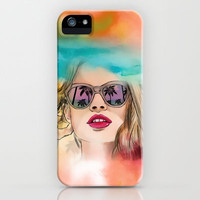 Palm Springs iPhone & iPod Case by Sara Eshak
