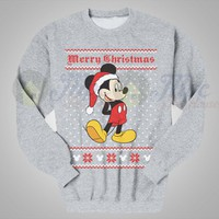 Mickey Mouse Christmas Ugly Sweater - Mpcteehouse