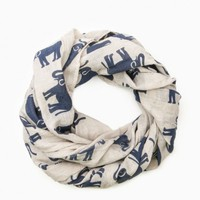 ELEPHANT COLLECTION SCARF