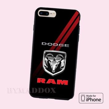 Dodge Cool RAM Logo Automotive CASE Cover iPhone 6s/6s+/7/7+/8/8+, X and Samsung