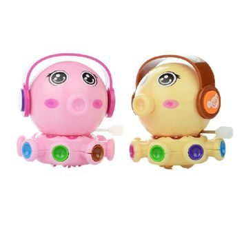 Set of 2 Lovely Animals Wind-up Toy for Baby/Toddler/kids, Octopus(Color Random)