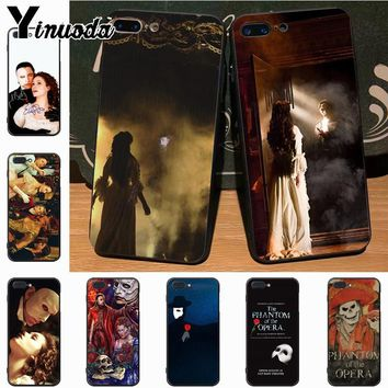 Yinuoda The Phantom of the Opera On Sale Luxury Cool Phone Case for iPhone 7plus X XS XR XS MAX 6 6S 7 8 8Plus 5 5S case