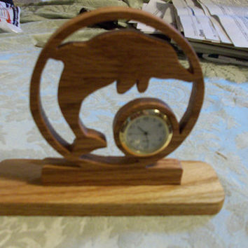 Dolphin Miniature desk clock