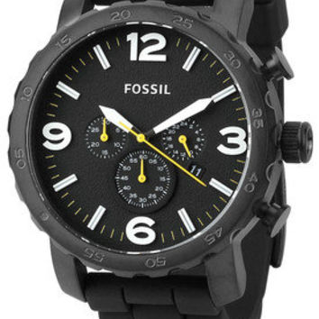 JR1425 Black/Black Chronograph